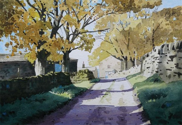Painting Autumn Colors - Paul Talbot-Greaves