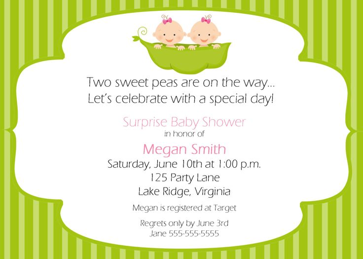 best baby shower invitations images on   parties, Baby shower