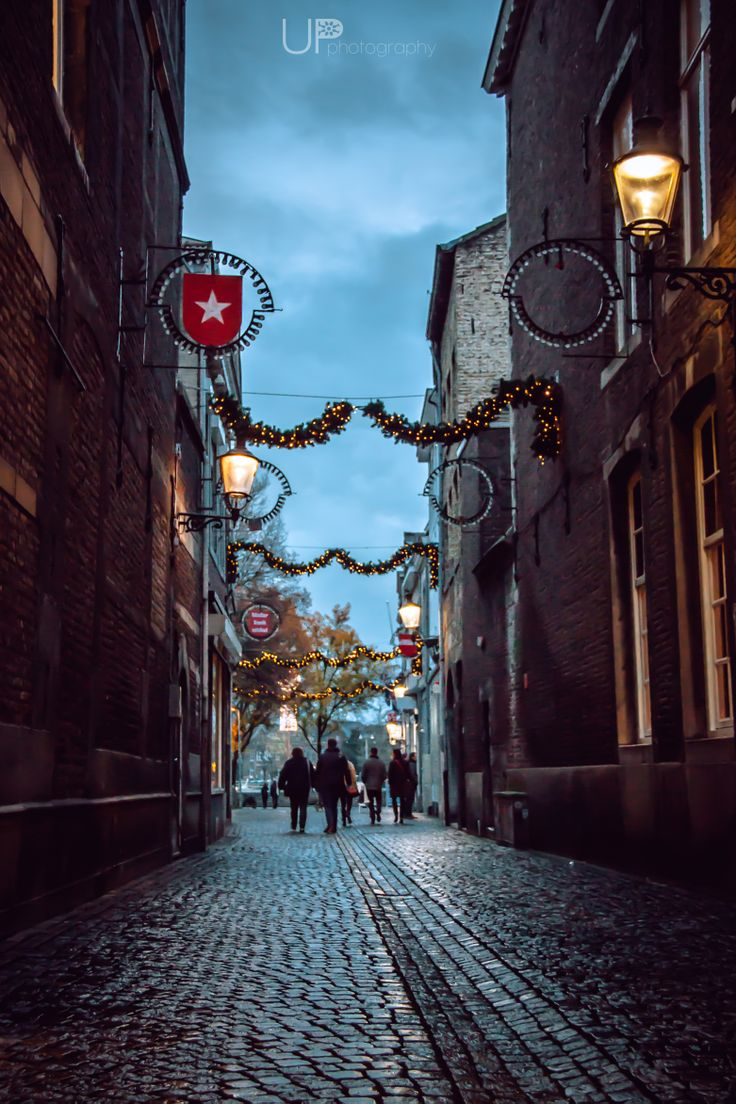 Christmas streets in Maastricht