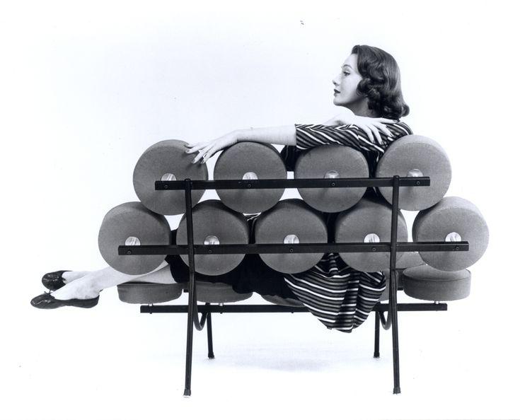 Histoire de Design : Canapé Marshmallow par Georges Nelson 1956
