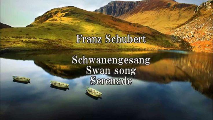 Schubert Schwanengesang (Swan song, Serenade) Ständchen  D 957 4