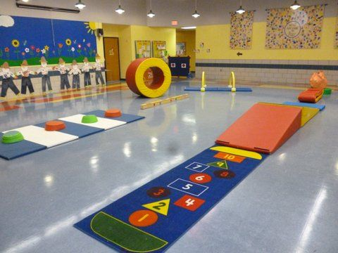 Every Thursday We Transform Our Gym Into A Fun Obstacle