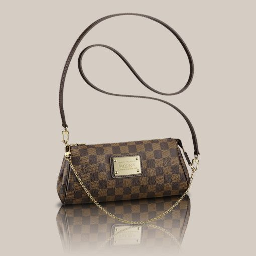 LOUISVUITTON.COM - Eva Clutch Damier Ebene Canvas Handbags