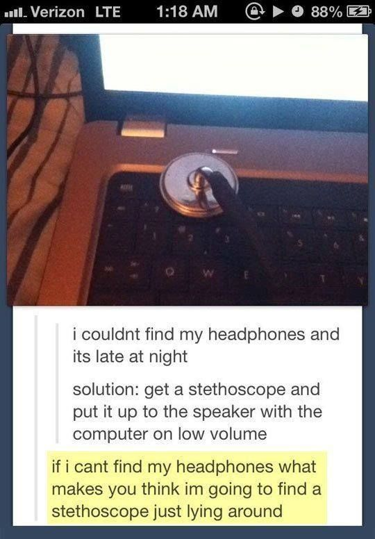 Collection of the most hilarious tumblr posts! Click to view or write a comment..../