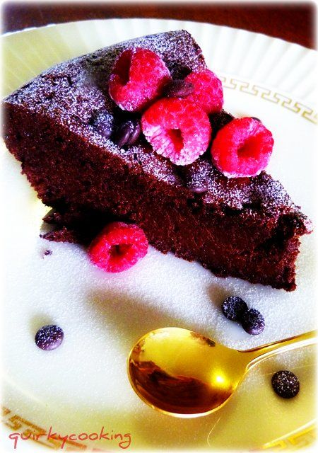 Flourless Chocolate Espresso Cake