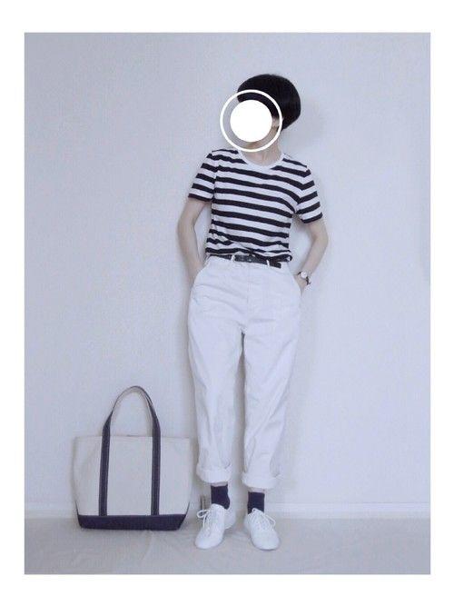 zua. 無印良品のTシャツ・カットソーを使ったコーディネート - WEAR