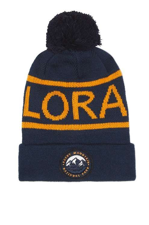 Opt for a slogan style with this cool beanie with a pom attached, featuring Colorado wording. #Topshop
