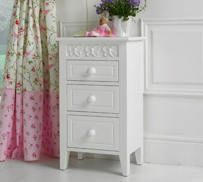 Florence Flutterby Bedside Table  A simply beautiful childrens bedside table made by Little Lucy Willow