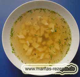 Eierstichsuppe