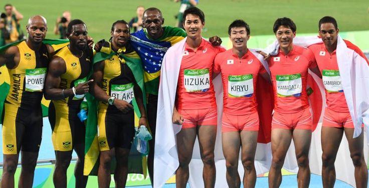 Mens 4x100 relay - Japan takes silver!!!!!!