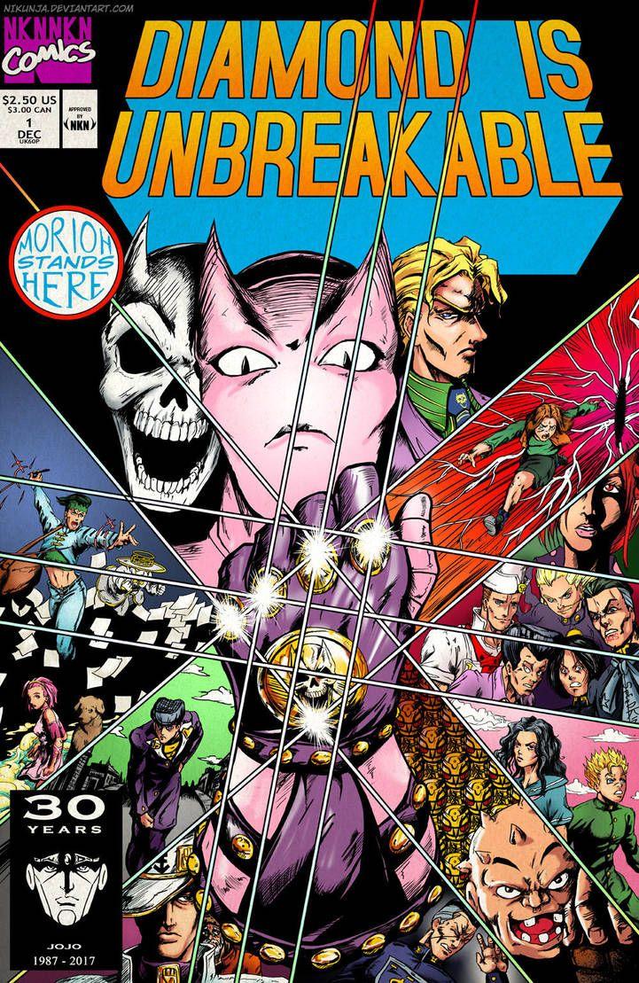 Diamond Is Unbreakable Infinity Gauntlet By Nikunja Jojo Bizarre Jojo Bizzare Adventure Jojo S Bizarre Adventure