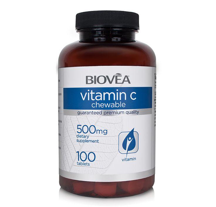 WITAMINA C 500mg 100 tabletek do zucia | BIOVEA 60zł