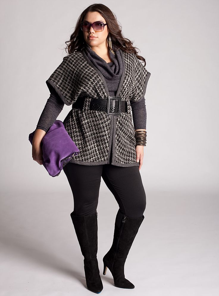 Stylish plus size outfit