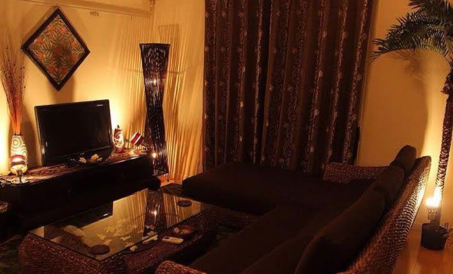 タイ王室御用達のpeformax社製の家具やライティング、アクセサリーなど、こだわりのバリ家具でコーデされた、曽我さんのハイクオリティなアジアンテイストのお部屋をご紹介します。 以下、曽我さんのコメントになりますので、ぜ …