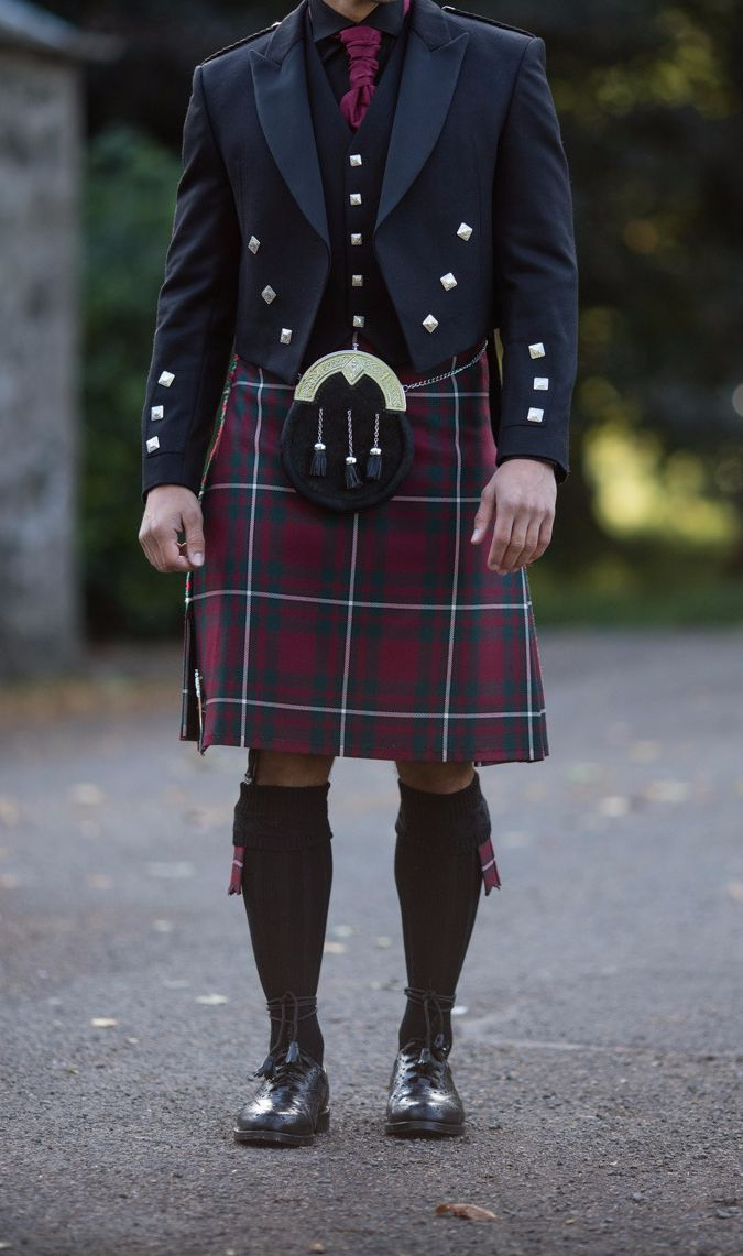 Cute Scottish Man Scottish Clothing Scottish Dress Kilt
