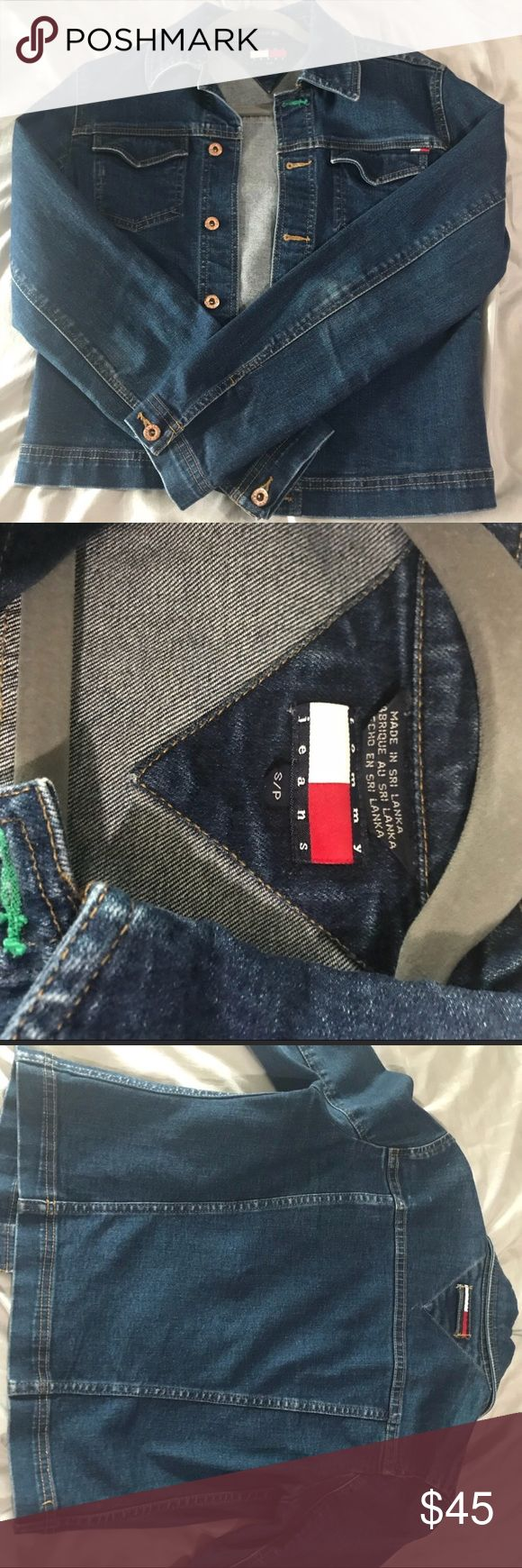 Tommy Hilfiger Jean Jacket Original Tommy Hilfiger jean