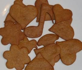 Rezept Knusprige schwedische Gewürzplätzchen (Pepparkakor) von albrici - Rezept der Kategorie Backen süß