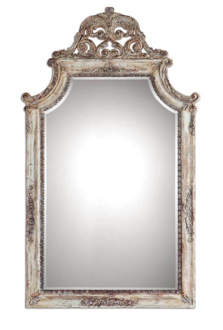 Williams sonoma home five panel beveled mirror - Portici Rectangular Mirror