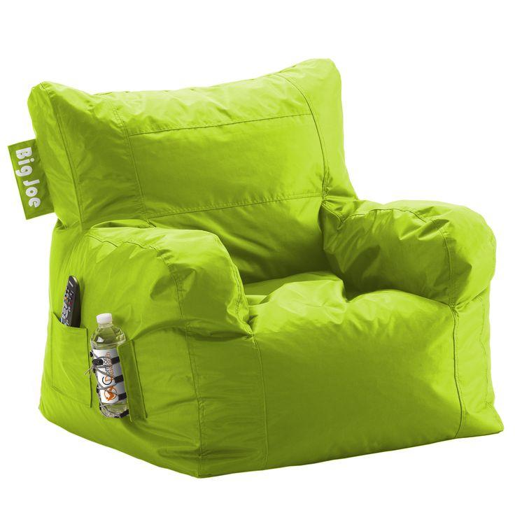 Big Joe Spicy Lime Dorm Chair In Smartmax ChairsBag ChairsBeanbag