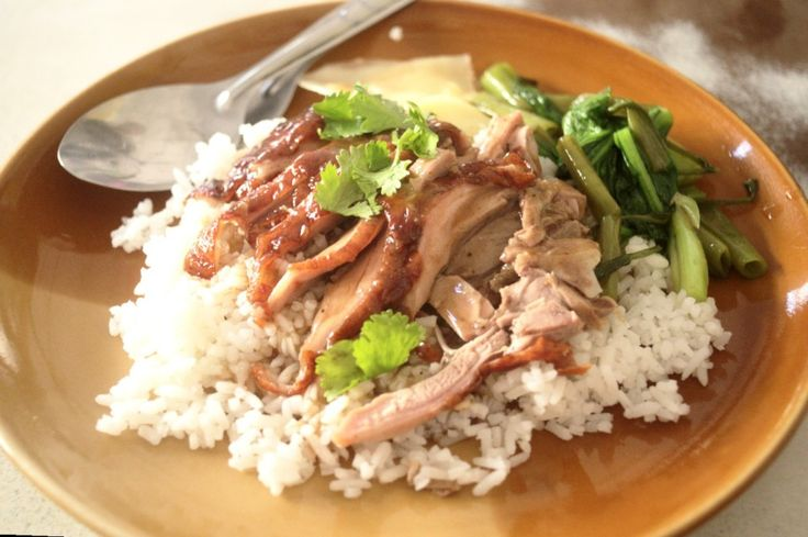 Thai roasted duck