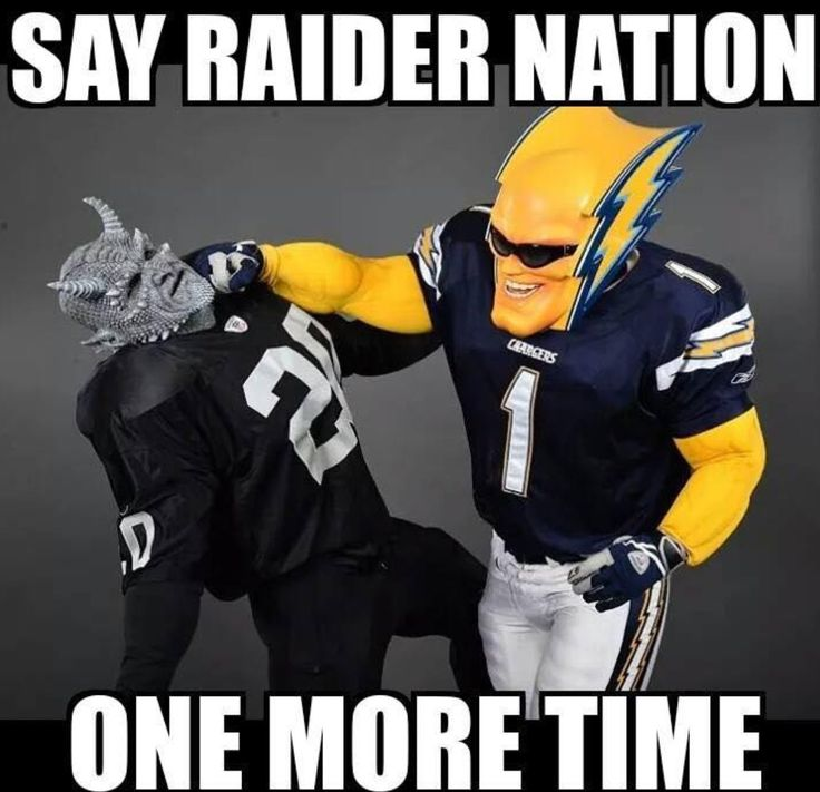 San Diego Chargers Bolt The Raiders! ⚡️