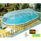 Sun Dome for 15' x 30' oval above ground pool