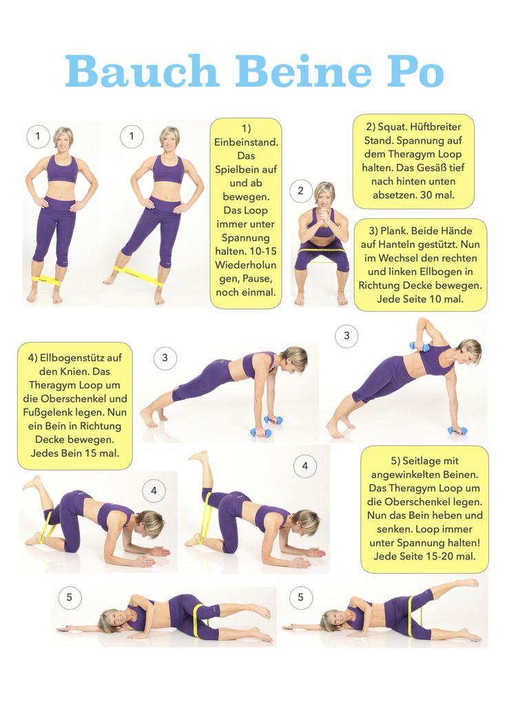 Bauch Beine Po, 15 Minuten am Tag für eine knackige Figur!