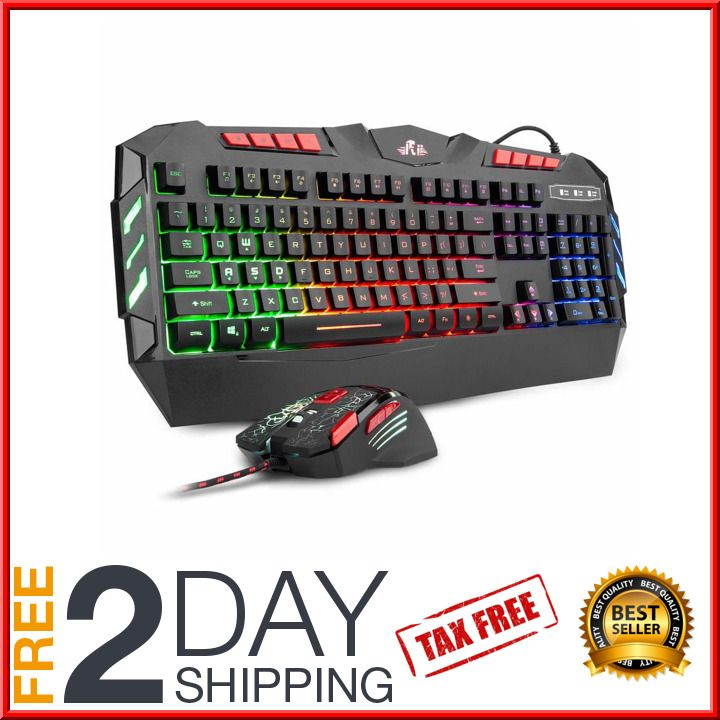 Fortnite Gaming Keyboard Mouse Set Adapter for PC PS4 Xbox