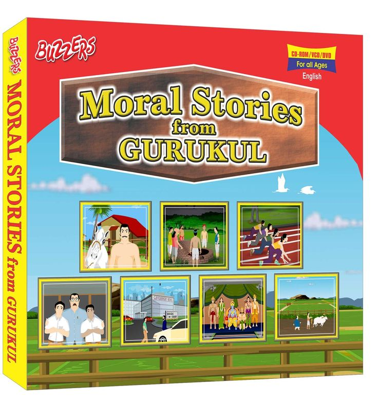 #Moral #Stories from #Gurukul Eng/Hindu buy for your #kids #online https://www.buzzers.in/cd-s/animated-stories/moral-stories-from-gurukul-eng-hin.html Moral Stories are always a pleasure for the young and old alike. With fbulous animations and strong stories, this animated film is sure to keep you excited everytime you watch this programme.