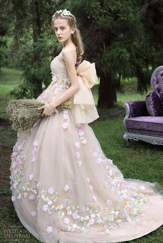 131 best Bridal Dresses images on Pinterest | Dreams, Fashion ...