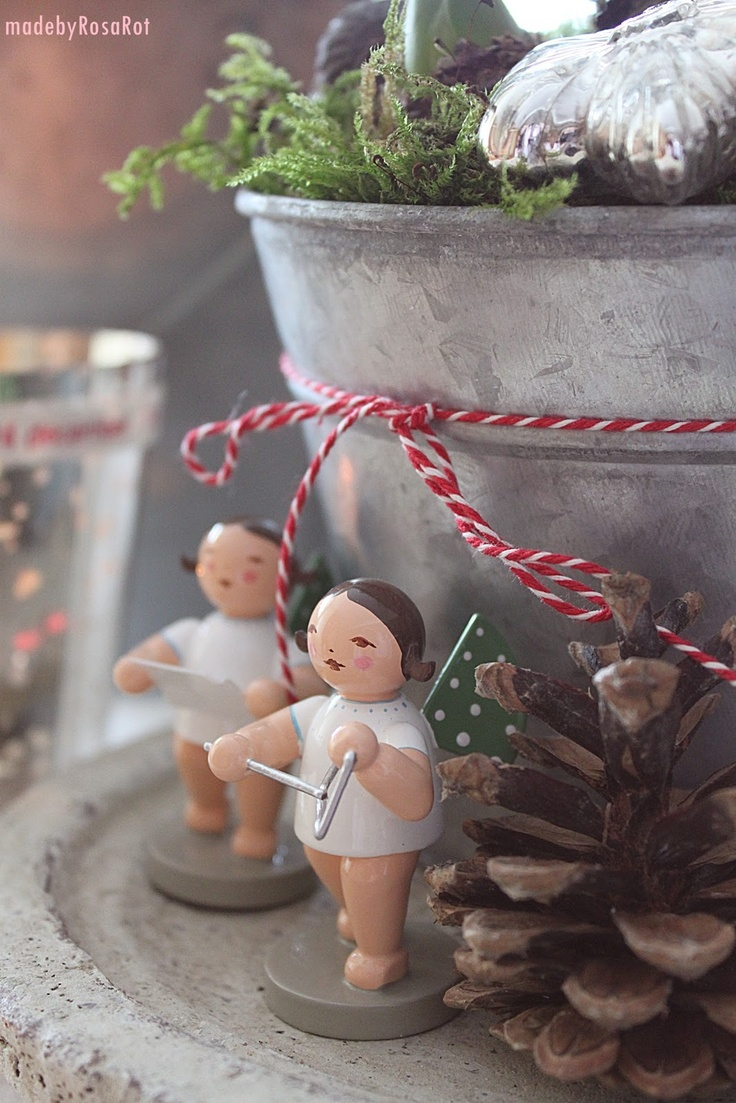 German Christmas angels. Part of our family's traditions.