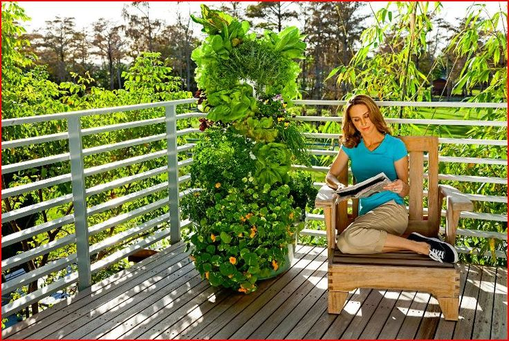 5 Awesome Tower Vegetable Garden