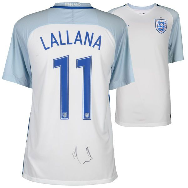 Adam Lallana England National Team Autographed 2016-2017 Home Jersey - ICONS - $499.99