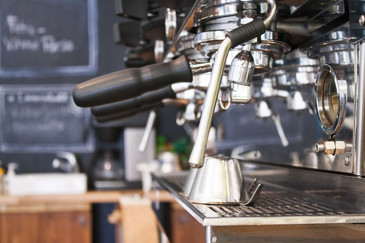 La Marzocco ready to make some coffee