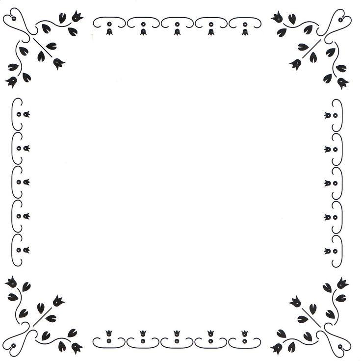 hobbydots vierkant frame