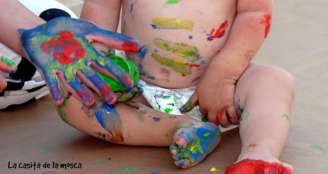 La casita de la mosca: DIY: Pintura casera para niños