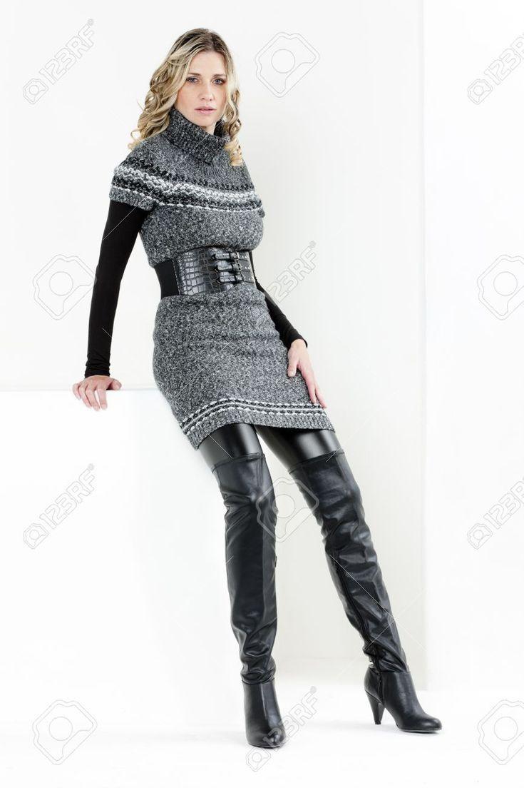 Bildergebnis für Frauen, die Stiefel tragen