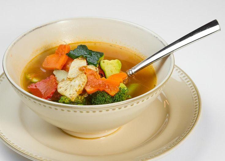 recipe: low carb vegetarian vegetable soup recipe [14]