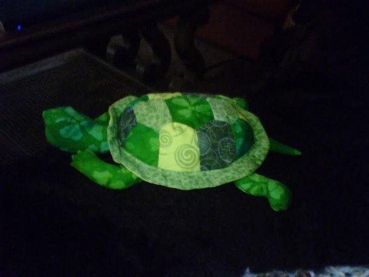 Quilt top Turtle 2009