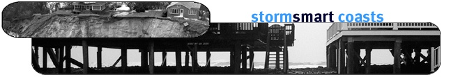 The StormSmart Coasts program is designed to help coastal communities address the challenges arising from storms, floods, sea level rise, and climate change, and provides a menu of tools for successful coastal floodplain management.