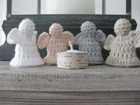 Stijl en zoooo!: Engeltjes haken, Crochet Angel