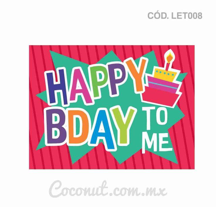Letrero para fiestas de cumpleaños resistente al agua, encuéntralo en https://www.coconut.com.mx/collections/letreros-para-fiestas y obtén tu envío gratis a partir de $500 en la república mexicana Síguenos en Facebook https://www.facebook.com/coconutstoremx/