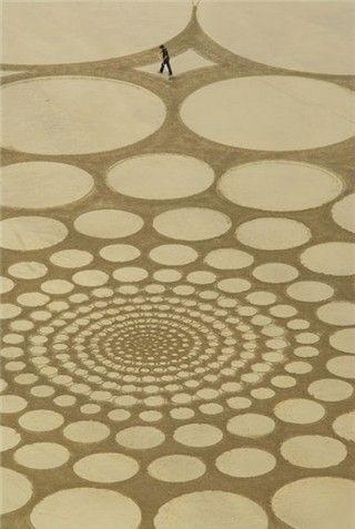 Sand art by Jim Denevan | Recyclart