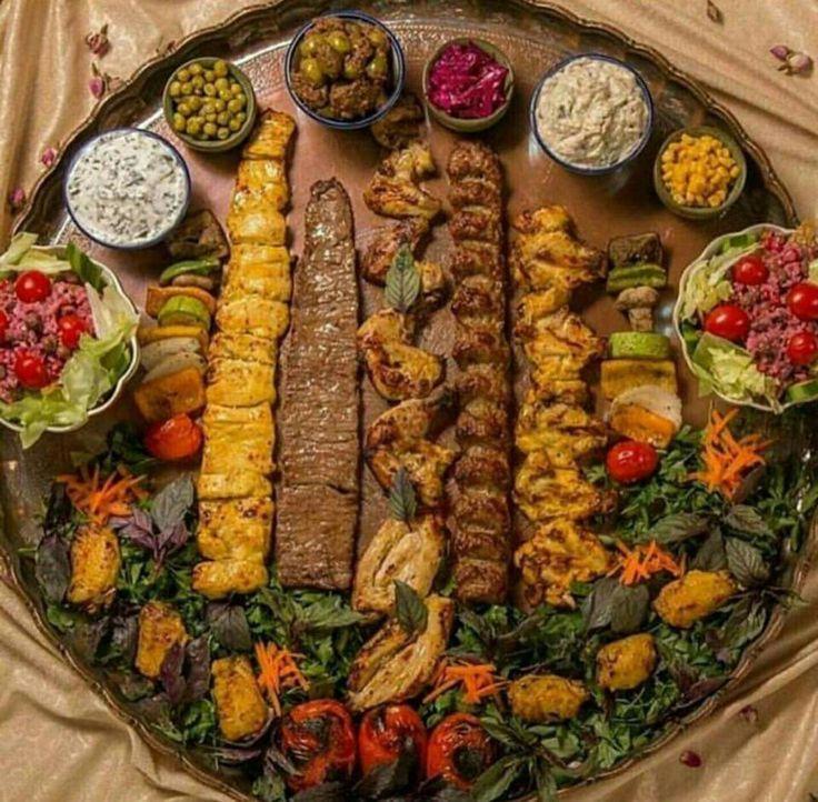 Iranian Kebob varieties