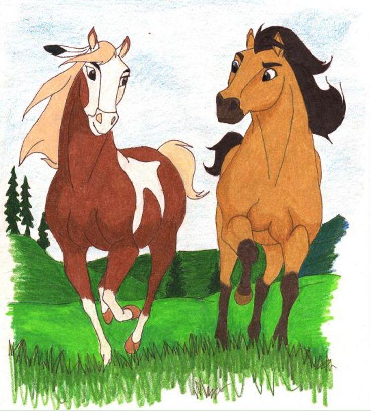 картинки лошадей рисунки спирита ростовский областной