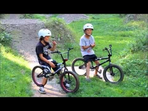 BMX im TS Dirtpark mit den Kids