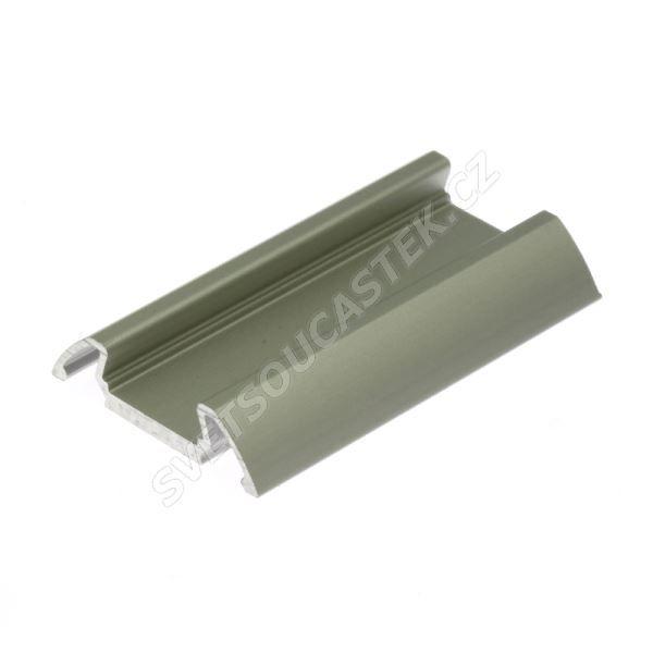 Lišta na LED pásky STOS-ALU Elox 1m KLUŚ B4369