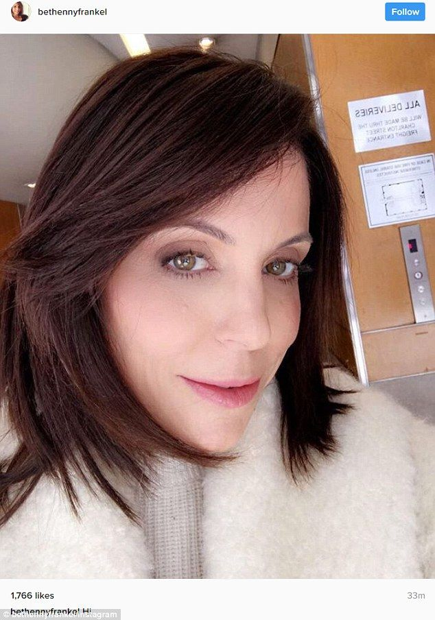 Magic!Bethenny Frankel is 46-years-old but she sure doesn't look it. On Sunday the Real Housewives Of New York shared an image where she appeared completely wrinkle free.