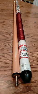 "Vintage Budweiser Pool Stick Pool Cue 57""~ 20.5 oz. Amheuser Busch 1988"