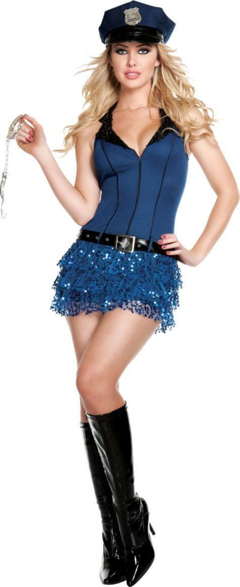 Officer Hottie Police Costume for Adults - Party City - CLEARANCE - $42.00